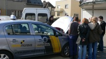 Ukázka výuky praktické údržby vozidla 01